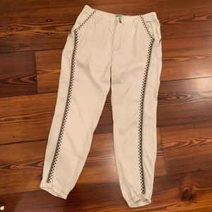 Anthropologie threaded joggers